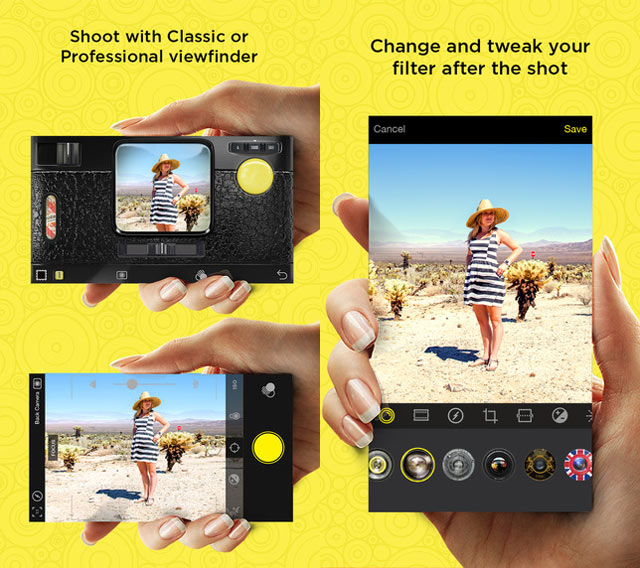 Le Migliori App iPhone per Foto, Video e Audio Vintage