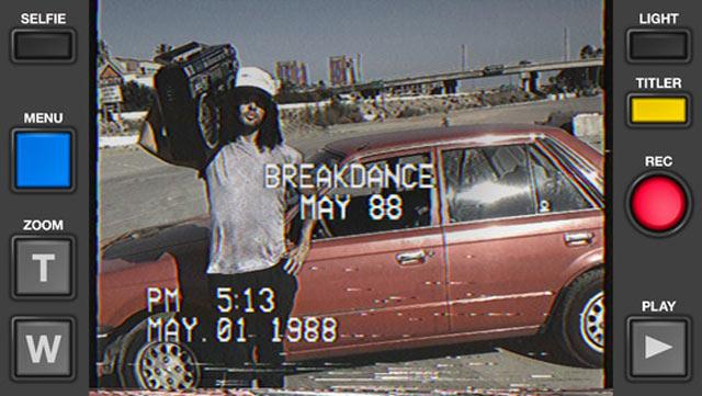 App VHS e 8 mm Vintage