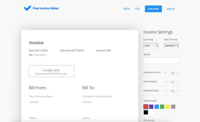 Free Invoice Maker