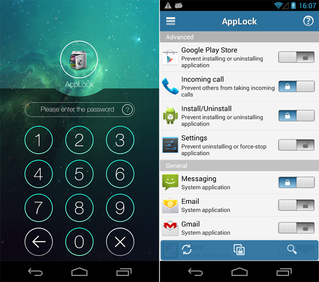 Bloccare Whatsapp con AppLock