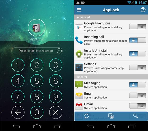 Bloccare Whatsapp con AppLock