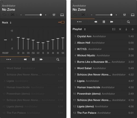Player Audio Gratis per Mac OS X Vox Player