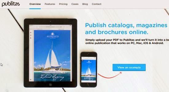 Presentare e condividere PDF online con Publitas