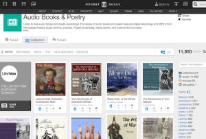 audiolibri Internet Archive
