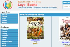 audiolibri Loyalbooks