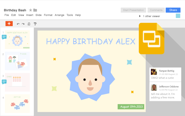 Google Slides alternativa gratis a PowerPoint