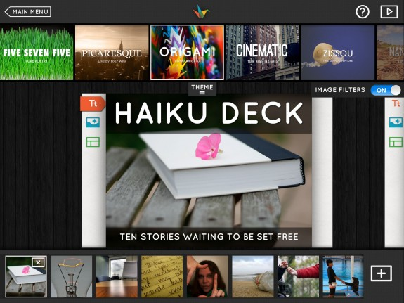 Haiku Deck alternativa gratis a PowerPoint