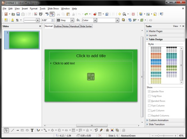 Libreoffice Impress alternativa gratis a PowerPoint
