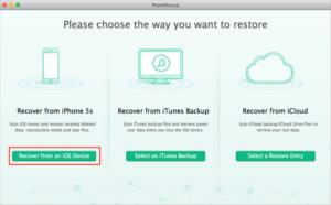 Come Recuperare Foto Cancellate su iPhone o iPad - PhoneRescue