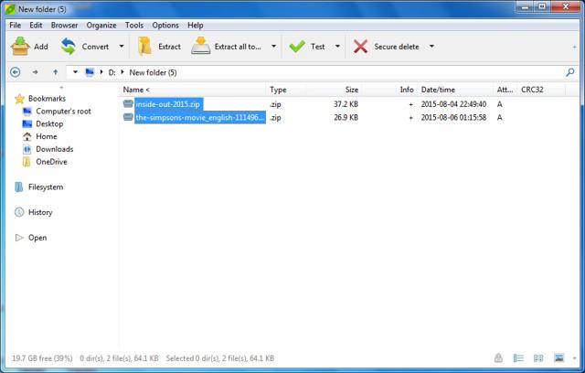 Le Migliori 5 Alternative a WinZip e WinRAR - PeaZip