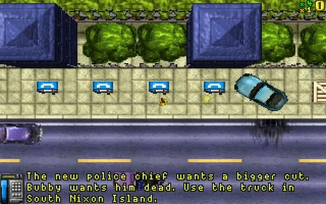 Migliori giochi DOS - Grand Theft Auto