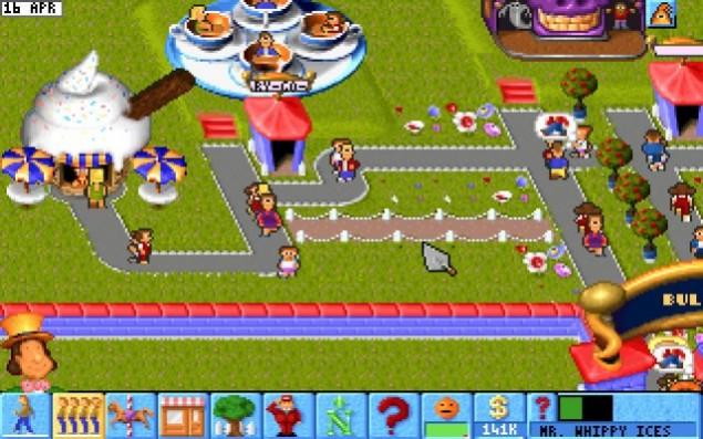 Migliori giochi DOS - Theme Park