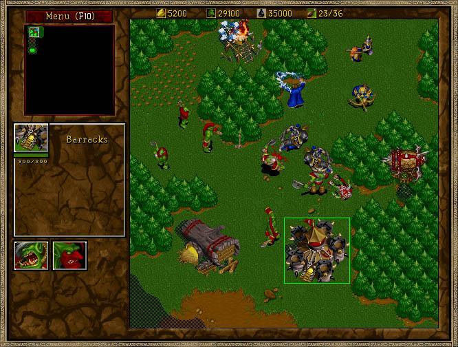 Migliori giochi DOS - Warcraft II