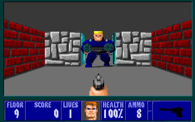 Migliori giochi DOS - Wolfenstein 3D