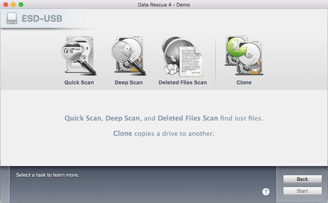 Recuperare File Cancellati su Mac con Data Rescue