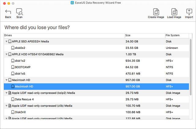 Recuperare File Cancellati su Mac con EaseUS