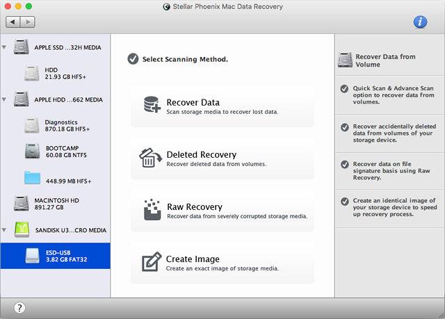 Recuperare File Cancellati su Mac con Stellar Phoenix Recovery
