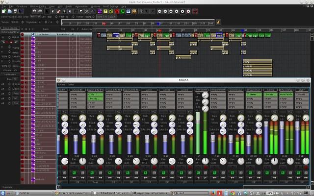 Registrare l'audio con Muse