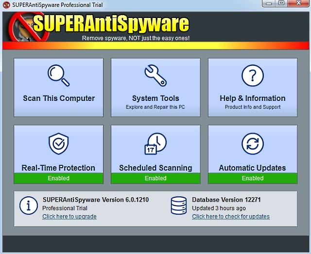 Rimuovere gli spyware con SuperAntiSpyware