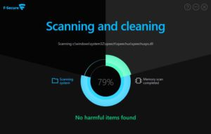 Scansione antivirus online con F-Secure Online Scanner