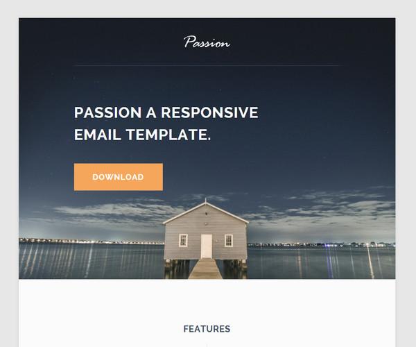 Template per Newsletter da Scaricare Gratis - Passion
