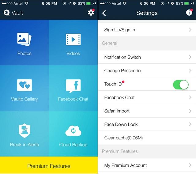 Come Nascondere Foto sul tuo iPhone o iPad - Vault