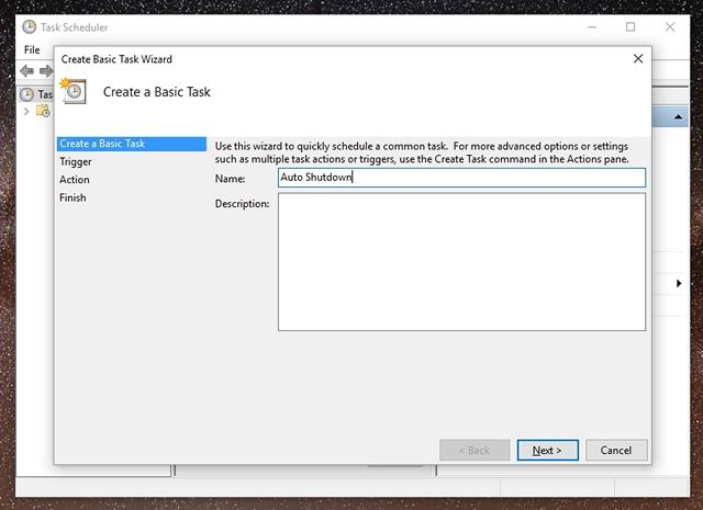 Programmare lo Spegnimento Automatico su Windows 10 - Task spegnimento