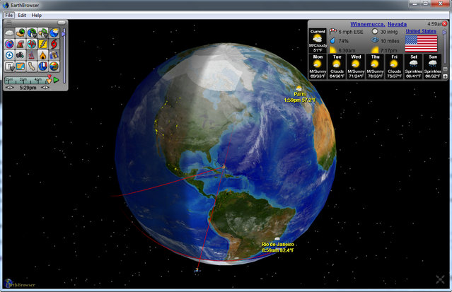 Programmi Simili a Google Earth da Usare in Alternativa - Earth Browser