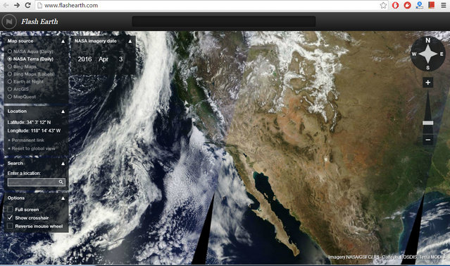 Programmi Simili a Google Earth da Usare in Alternativa - Flash Earth