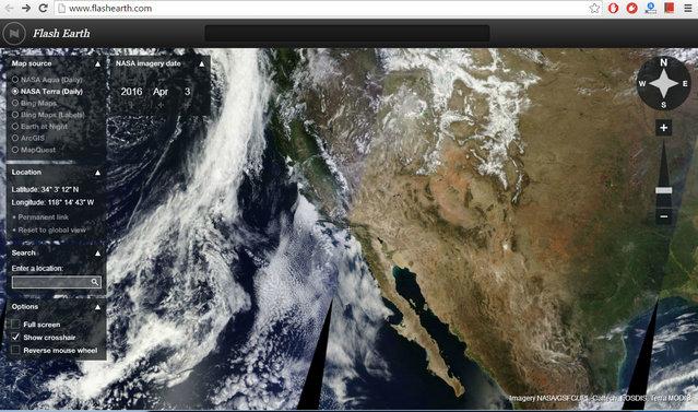 Programmi Simili a Google Earth da Usare in Alternativa - Flash Earth