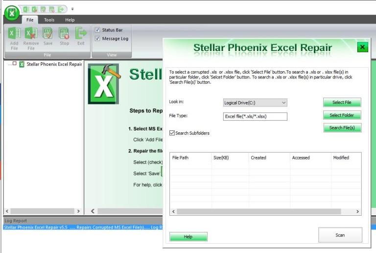 Recuperare File Corrotti Excel con Repair Toolkit