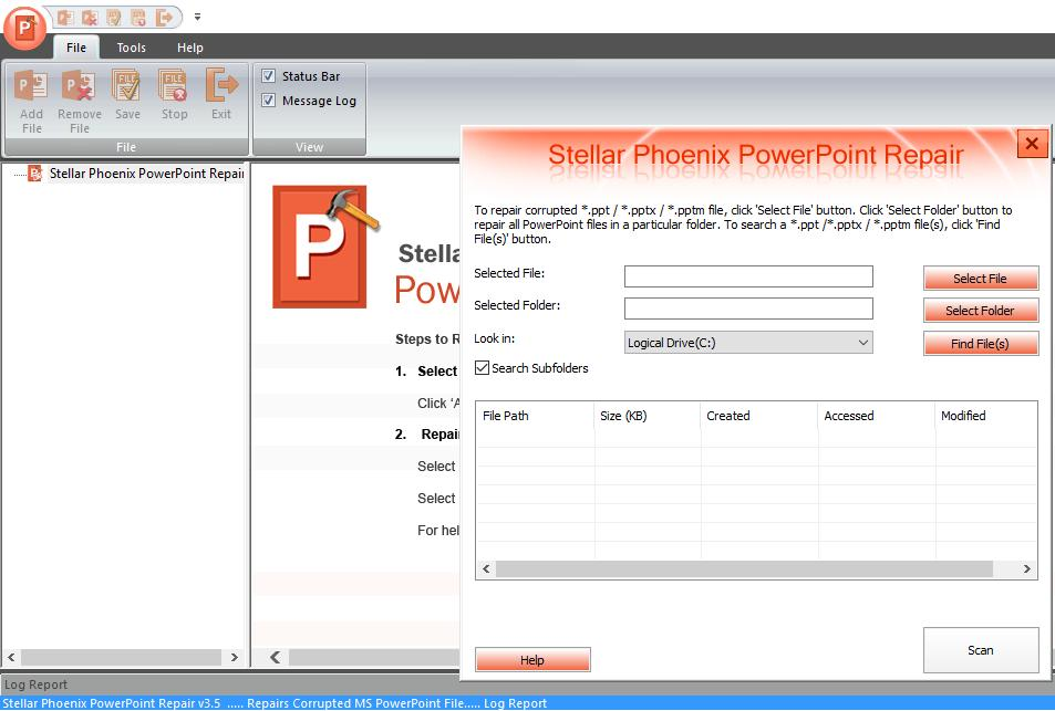 Recuperare File Corrotti PowerPoint con Repair Toolkit