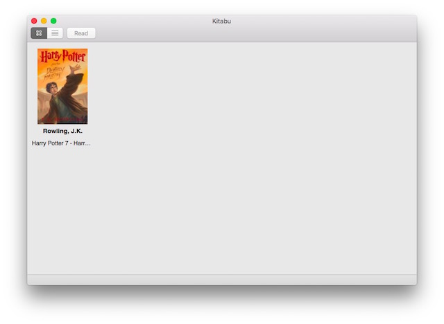 Migliori eBook Reader Gratis per Mac - Kitabu