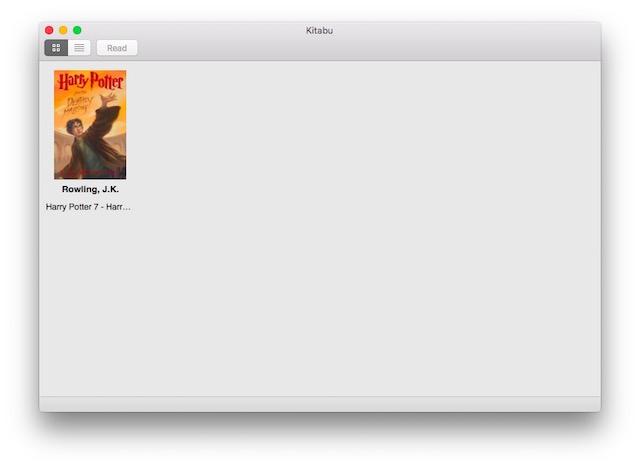 Migliori eBook Reader Gratis per Mac - Kitabu
