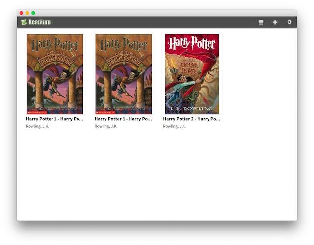 Migliori eBook Reader Gratis per Mac - Readium Chrome App