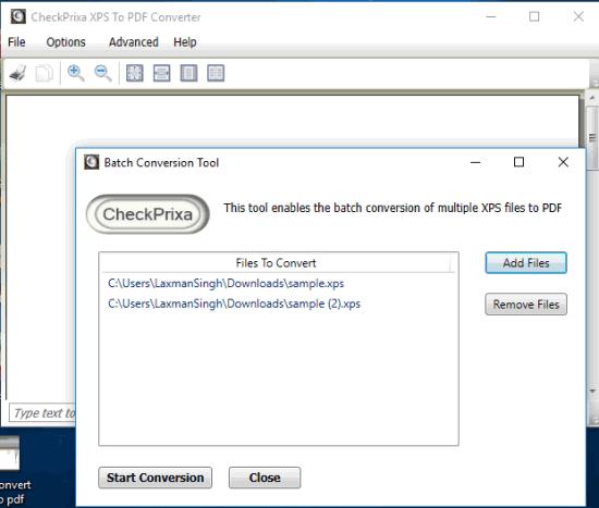 Programmi Gratis per Convertire XPS in PDF su Windows 10 - CheckPrixa