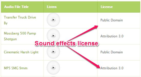 audio sound