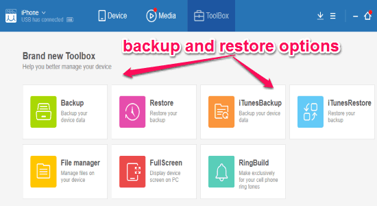4 Software Free per il Backup dei Dati dell'iPhone sul PC - MoboPlay