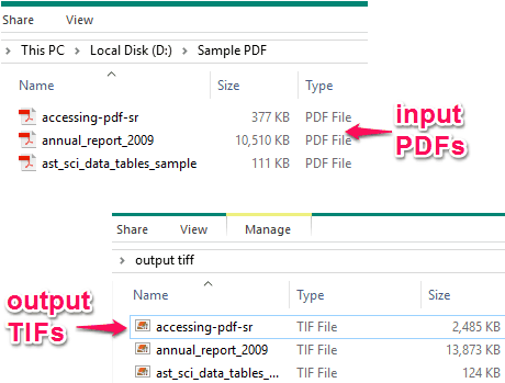 Come Convertire File PDF in TIFF Multipagina