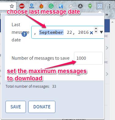 scelta della data