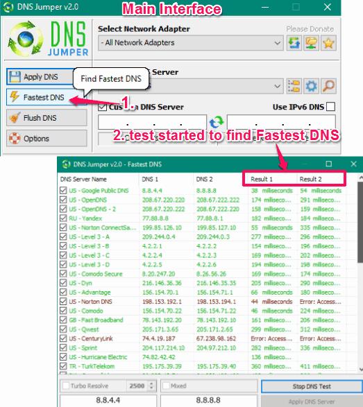 Come Trovare i DNS Migliori e Più Veloci per Te