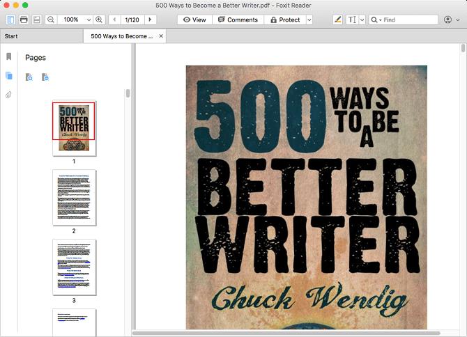 Programmi Gratis per Leggere PDF su Mac in Alternativa ad Anteprima - Foxit Reader