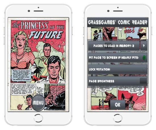 leggere fumetti su iphone