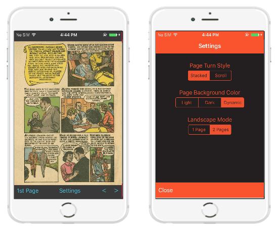 app base per fumetti