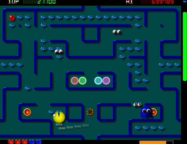 pacman emulatore