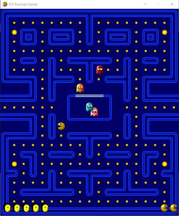 gioco pacman DOS
