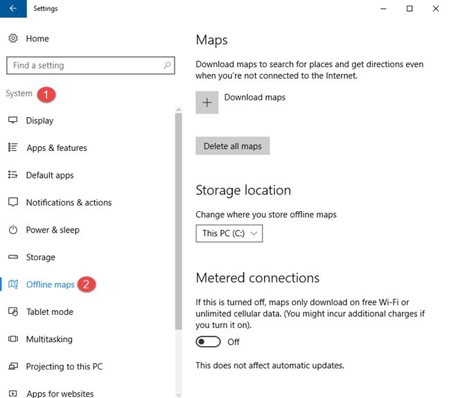 Come Scaricare Mappe Offline per PC Windows 10