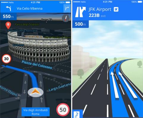 I 10 Migliori Navigatori GPS per iPhone - GPS Sygic