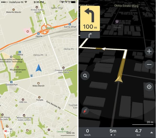 mappe per iphone