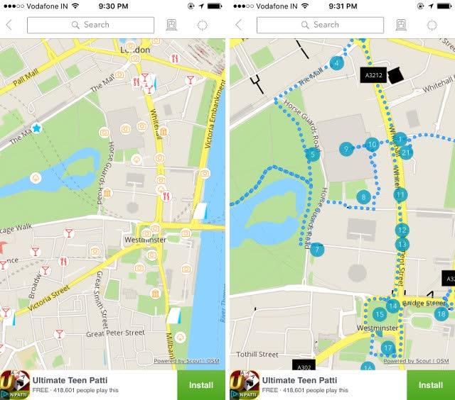 mappe gps iphone per turisti